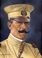 Felipe Angeles pintura JPG by GianFerdinand