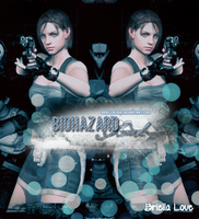 Jill Valentine Biohazard Girl by BriellaLove
