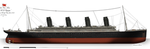 RMS Olympic: Profile (1914) by alotef