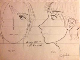 My Viktor ?????? (2P! Russia) Sketch-Out by Myindiansummer