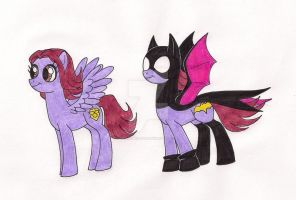 My Little Batfilly by 13foxywolf666