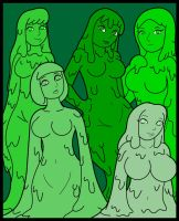 Slime Harem by KingMonster