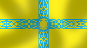 Alt. flag of Kazakhstan by AY-Deezy