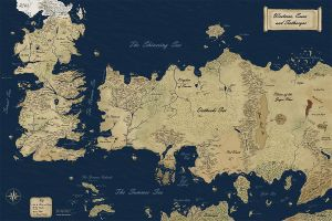 New Official Westeros Map by gunnar-santos