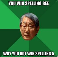You-win-spelling-bee by NurseBlissey