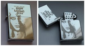 NIGHT OF THE LIVING DEAD - engraved lighter by Piciuu