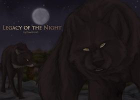 Legacy of the Night poster by DawnFrost