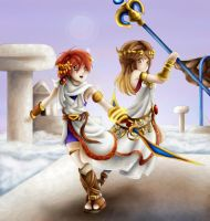 Kid Icarus cosplay by Lady-of-Link