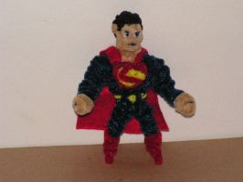 Superman (Man of Steel version) by fuzzyfigureguy