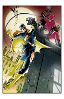 Pin up Batgirl Color by carloslima