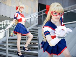 Sailor V: Crescent Beam! by Ansuchi