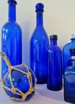 Blue bottles by tartanink