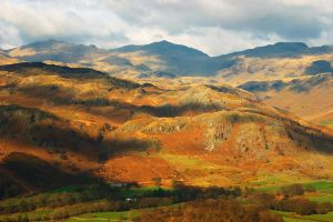 Bowfell and Eskdale by scotto