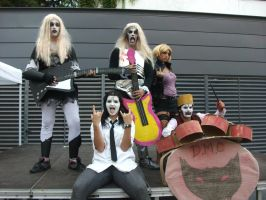 Detroit Metal City group by claudia1542