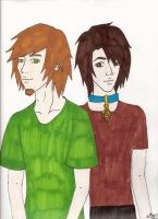 shaggy and scooby by Ita06
