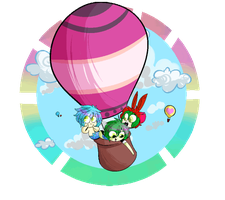 Hot Air Balloon Race by BlubberBooty