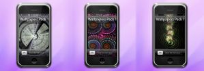 IPhone Fractals WP Pack 1 by SaTaNiA