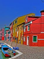 Burano Colours... by Wimley