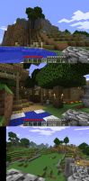 My Minecraft World :so far: by Tom-the-Foxey