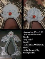 Assassin's Creed II: buckle by luckyleo13