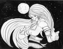 Space Warrior Inks only by marikit