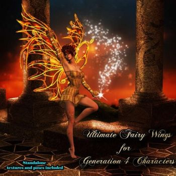 Ultimate Fairy Wings, by midnight stories by FantasiesRealmMarket