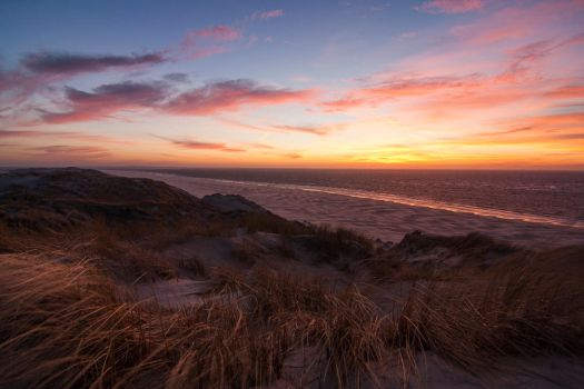 Terschelling sunset I by Argonavis
