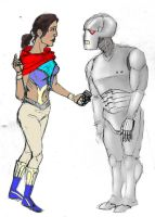 Trillian and Marvin 1 by IronOutlaw56