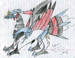 Zekrom, Reshiram and Kyurem mixed together by aquatic4l