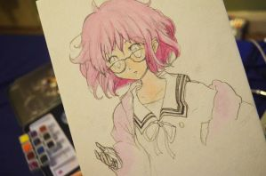 Kyoukai No Kanata (Beyond the Boundary) by evalunaofficial
