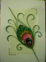 quilling greeting card by Shreshtha24