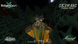 IntoTheWoods Skywars Map -  07 by TheFlyinFerret