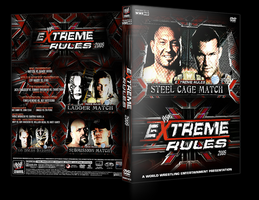WWE Extreme Rules DVD Cover V2 by Y0urJoker