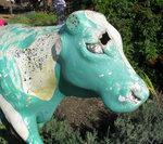 Cow Statue Stock by Rhabwar-Troll-stock