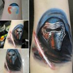 Kylo Ren arm painting by a-chelsea-grin