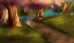 Eversong Woods by 0okami-0ni