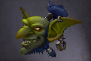 Goblin Fan Art by MicreroFurioso