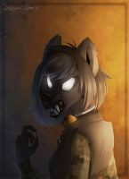 Angry thing by Stasya-Sher