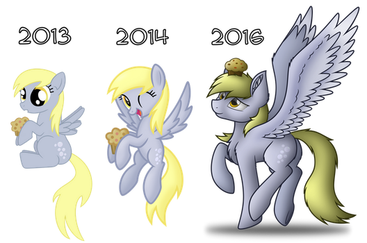 2013-2016 Vector comparison by StarlessNight22