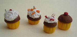 Muffins Gone Wild by MotherMayIjewelry
