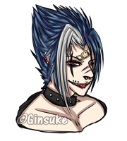 Headshot Colored by Ginsuke