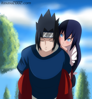 the uchiha and the miko by itasasu2002