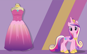 Princess Cadance Inspired Dress by Maiximillion3564
