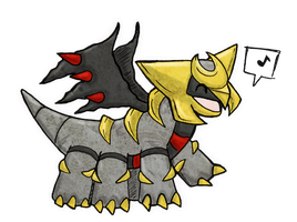 giratina cute? by werespyro