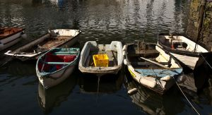 Boats in a row by parallel-pam