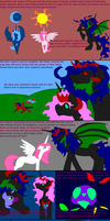 the tale of a dark queen: MLP by teamemeraldHQ
