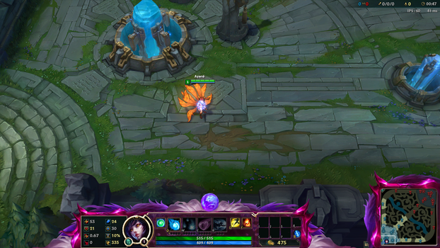 Overlay Ahri Challenger league of legend by Xiialu