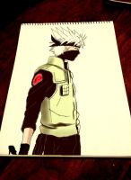 kakashi by queentinkerbeth