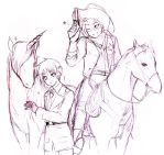 aph Unicorn and Horse by mikitaka