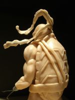 ninja Turtle Sculpt - view 4 by shilini